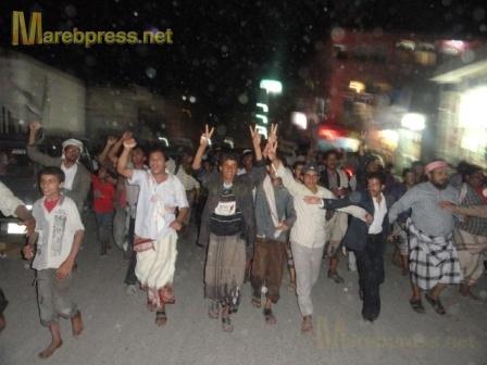 البيضاء: مسيرة جماهيرية حاشدة تندد بمجزرة نظام صالح ضد المتظاهرين السلميين في صنعاء 16010.1316386497.41.