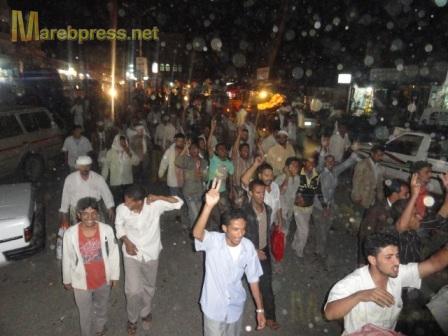 البيضاء: مسيرة جماهيرية حاشدة تندد بمجزرة نظام صالح ضد المتظاهرين السلميين في صنعاء 16010.1316386535.75.