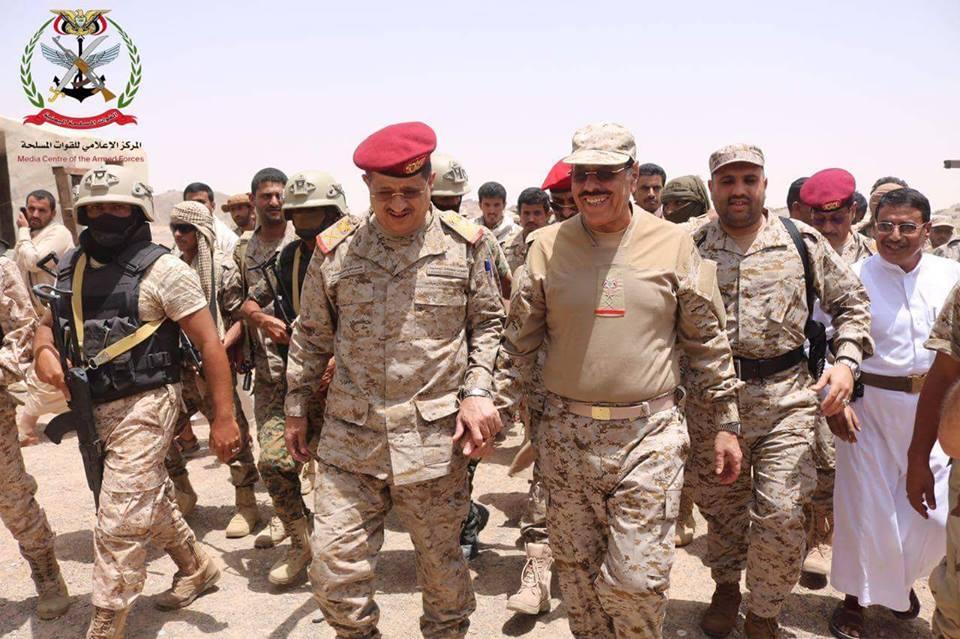 اخبار اليمن اليوم عاجل ..الفريق علي محسن الأحمر يصل مأرب – مارب برس   اخبار اليمن
