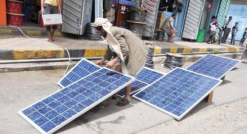 الطاقة الشمسية في اليمن ـ نقطة ضوء وسط ظلام الحرب الدامس