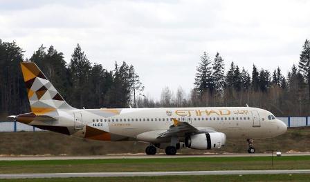 شركة طيران الاتحاد الإماراتية تعيش أزمة مالية حادة