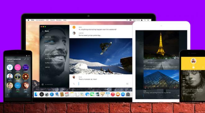 مأرب برس-   واير  تطبيق تراسل جديد من مؤسس  سكايب