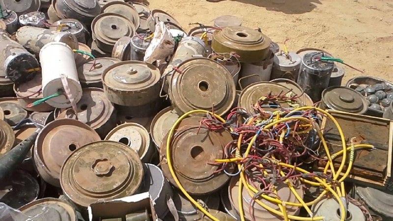 الميليشيات الحوثية مستمرة في زرع الألغام وعدد الضحايا يتصاعد