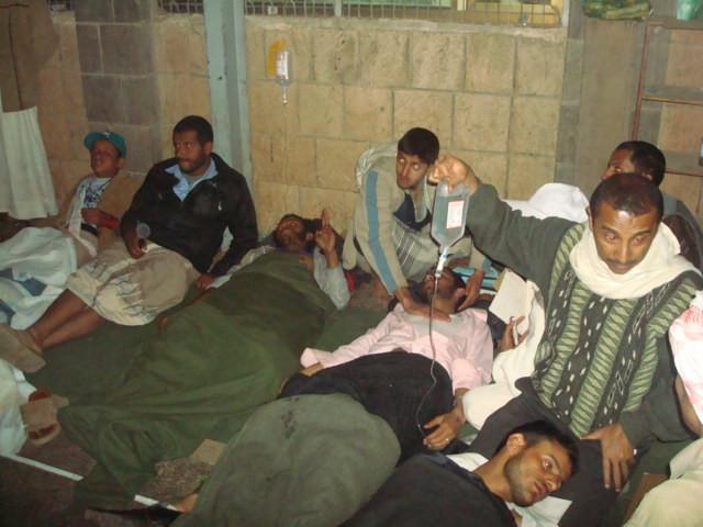 الجرحى صنعاء الدائري التغيير الثلاثاء 8/3/2011