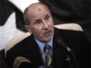 رئيس المجلس الانتقالي الليبي المستشفى