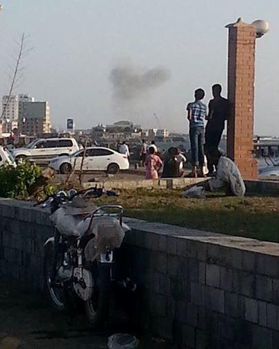 القاعدة تتبنى عملية الحديدة ، والحوثيين احباط هجوم 4 انتحاريين وسقوط 10 قتلى (صور)