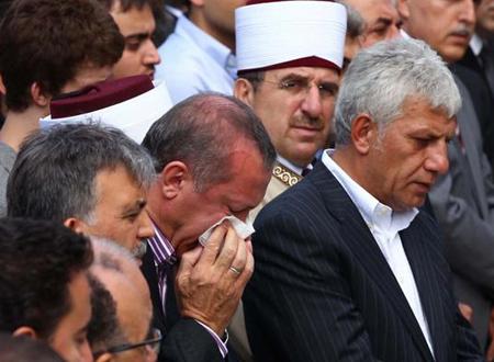 وفاة والدة أوردوغان يوتيوب صور