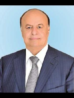 رئيس الجمهورية/ عبدربه منصور هادي