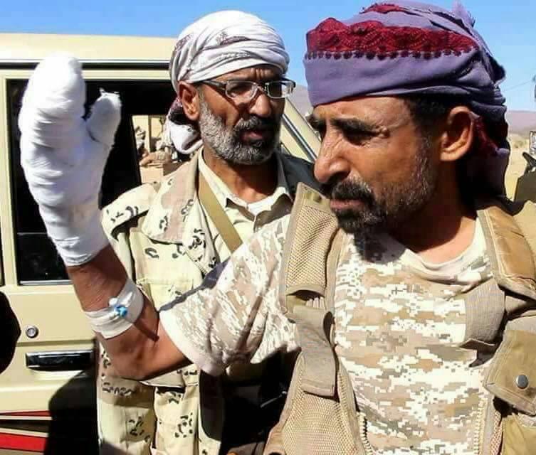 استشهاد قائد عسكري رفيع موالي للشرعية بمحافظة البيضاء