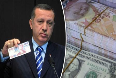 ثلاثة أسباب وراء هبوط الليرة التركية..