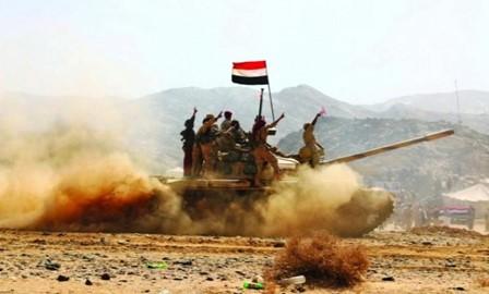 تواصل تهاوي قيادات المليشيا أمام ضربات الشرعية في مران