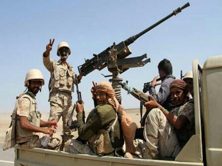 قوات الجيش تحرر مواقع استراتيجية جديدة  غربي تعز