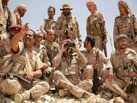 رئيس الأركان يتفقد سير المعارك في جبهات البيضاء ويشدد على مضاعفة الجهود لدحر المليشيا