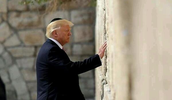 ترامب يعلن فشله ويبلغ حاخامات إسرائيل بصعوبة اتمام المهمة