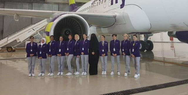 بنات السعودية مضيفات على متن الطائرات .. لأول مرة