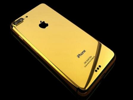 شركة«آبل» تكشف عن أحدث هواتفها «آيفون» من الذهب الخالص.. وهذا هوَ سعره