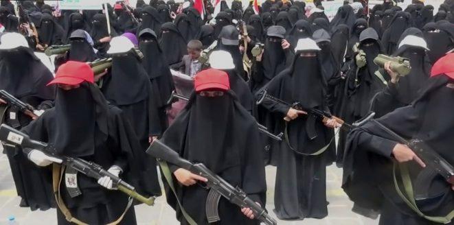 الميلشيات تنشر فرق «الزينبيات» في المدارس والجامعات .. تفتيش دقيق لطالبات جامعة صنعاء