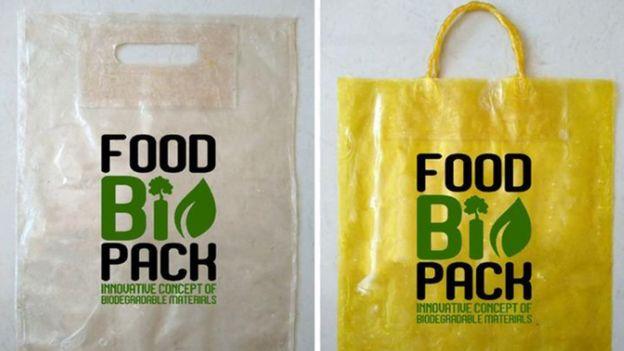علماء في أوكرانيا يخترعون أكياسا بلاستيكية قابلة للأكل