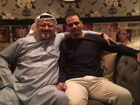 نجل «خاشقجي» يغادر السعودية