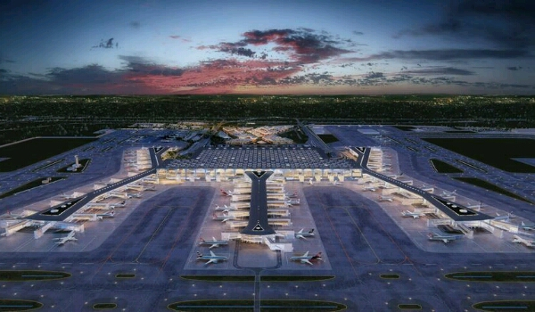 غدا الاثنين.. تركيا تفتتح أكبر مطار بالعالم في اسطنبول بحضور 12 زعيم بينهم زعيمين عربيين