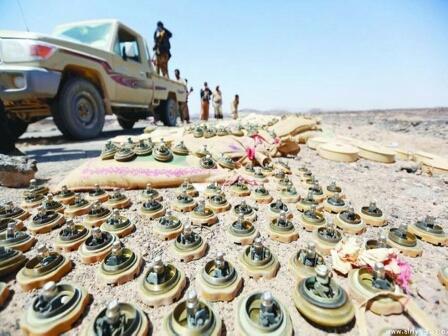 ألغام الميليشيا تحصد أرواح 183 مدنياً في محافظة الجوف