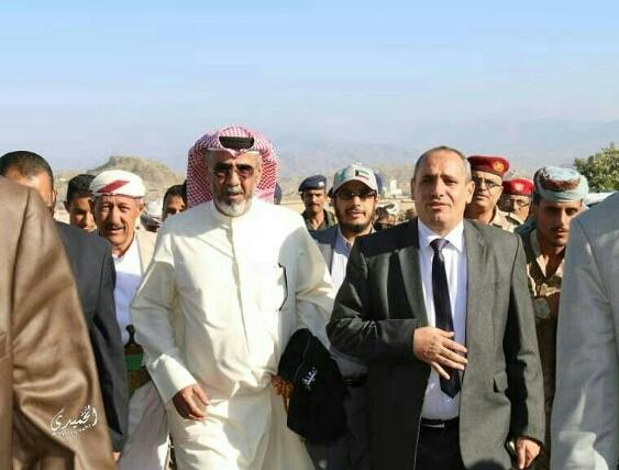 هدية من الكويت للشعب اليمني ووفد رفيع في تعز
