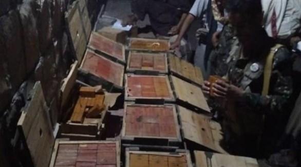 متفجرات وحشيش كانت في طريقها للحوثيين في قبضة أمن مأرب