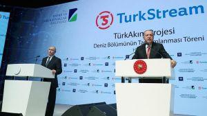اردوغان يعلن عن موعد وأهم المشاريع العملاقة مع روسيا