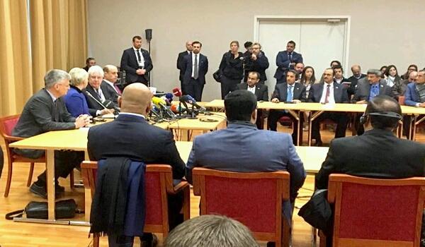 عاجل – اختراق وتقدم كبير في مشاورات السويد والبدء عمليا بتنفيذ اتفاق مدته 45 يوما