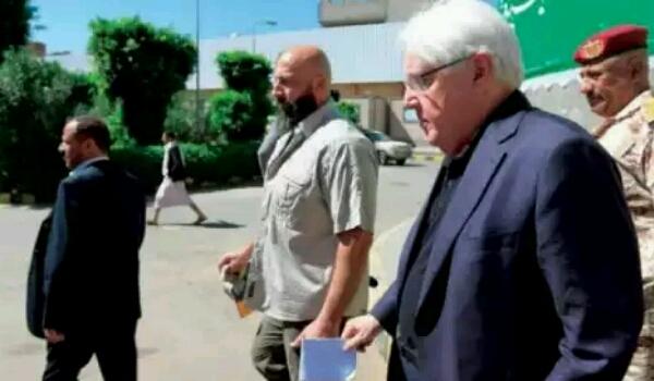 المبعوث ينهي زيارة مفاجئة الى صنعاء ويتجه الى مجلس الأمن