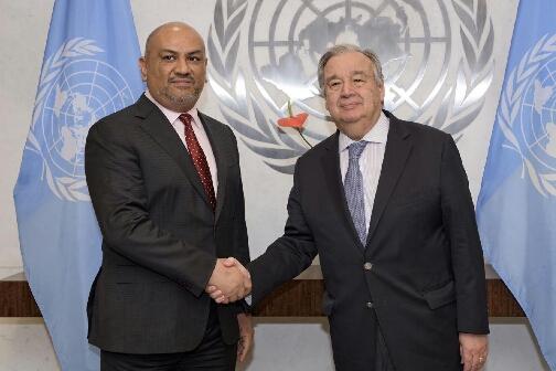 الحكومة اليمنية تجدد التزامها بموقف وطني ثابت - حراك دبلوماسي رفيع المستوى في نيويورك وكشف أسباب تعثر اتفاق الحديدة