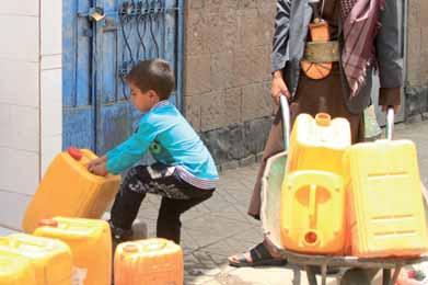 المياه والوقود في اليمن.. طوابير ومعاناة