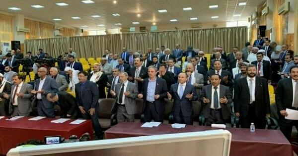 """""""اليدومي"""" يعلن عن """"9 أهداف"""" لأكبر تحالف سياسي في تاريخ اليمن"""