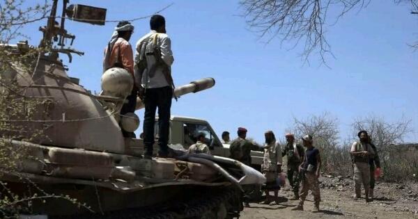 """اشتداد المعارك في """"الضالع""""  ومليشيا الحوثي تنفذ إعدامات ميدانية"""