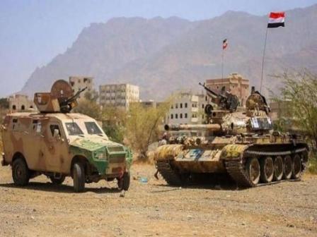 آخر تطورات معارك « الضالع» .. مناطق استراتيجية في قبضة قوات «الجيش»