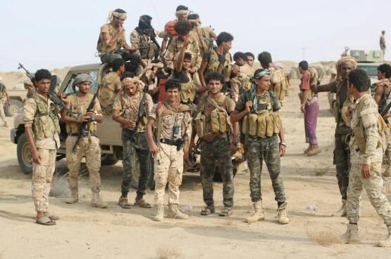 انتصارات جديدة للجيش الوطني .. واكثر من 10 كلم  مساحات جديدة تنظم للجمهورية