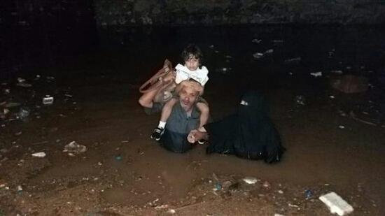 مناشدات للمنظمات الدولية لإنقاذ المتضررين من السيول بالمحافظات الجنوبية