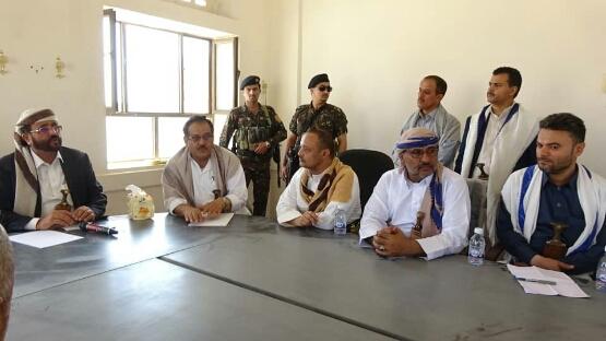 اللواء سلطان العرادة  يباغت موظفي المكتاب الحكومية ومدراء  العموم  بمحافظة مارب