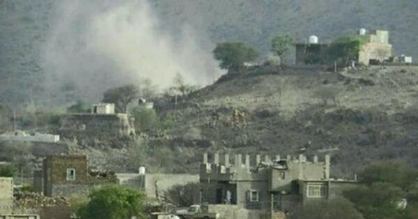 """سقوط ضحايا مدنيين في قصف لمليشيا الحوثي استهدف منازل المواطنين في """"الضالع"""""""