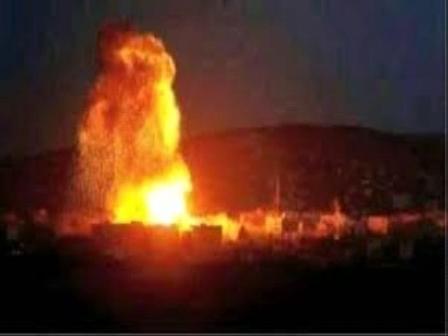 مصدر عسكري يكشف سبب تصاعد ألسنة اللهب من مواقع «الحوثيين» غرب قعطبة بـ«الضالع»