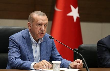 أردوغان يتوعد بمقاضاة واشنطن
