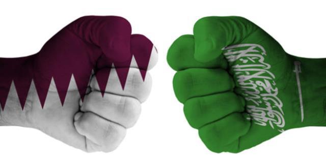 مواجهات ساخنة بين قطر السعودية في لندن ...  فيديو