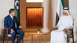 محمد بن زايد يحسم موقف الإمارات من السلطة التنفيذية الجديدة في ليبيا